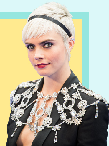Celeb pixie cuts are totally trending in Hollywood right now like Cara Delevingne