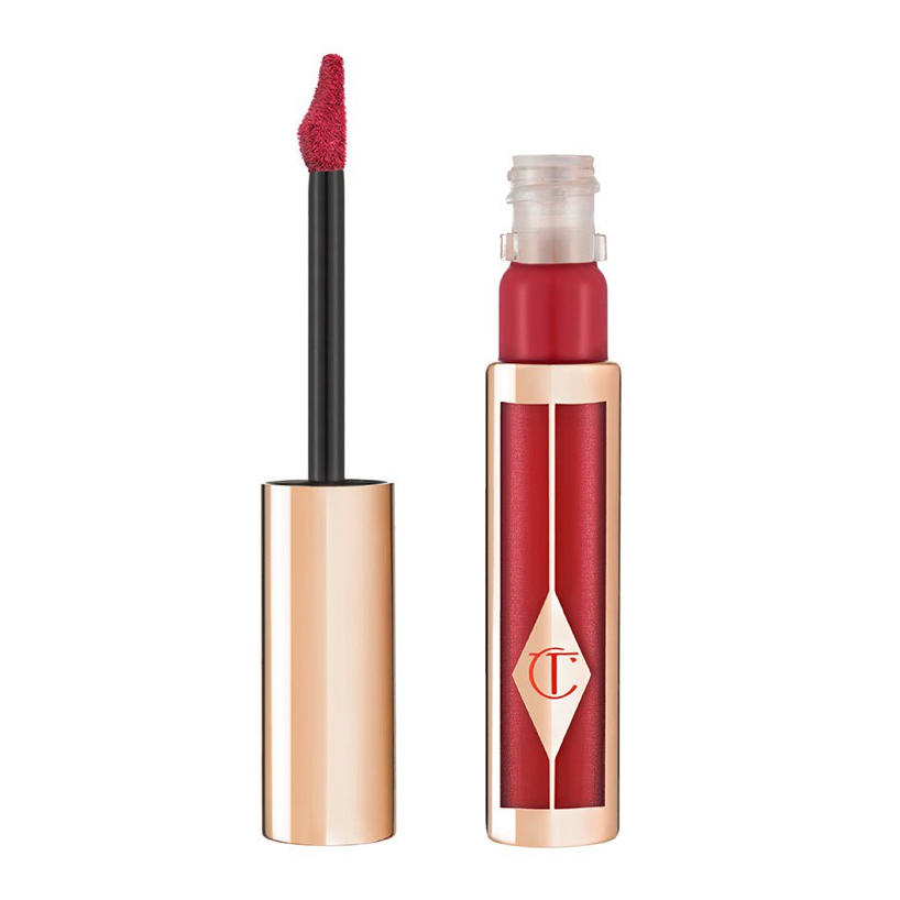 "<p>Hollywood Lips Liquid Lipstick in Screen Siren, $39, <a href=""http://www.charlottetilbury.com/ca/hollywood-matte-liquid-lipstick-screen-siren.html"" target=""_blank"">charlottetilbury.com</a></p> <p>This matte liquid lipstick creates the illusion of fuller lips, and the crescent-shaped applicator mimics the natural curve of your lips—making application as easy as 1, 2, 3.</p>"