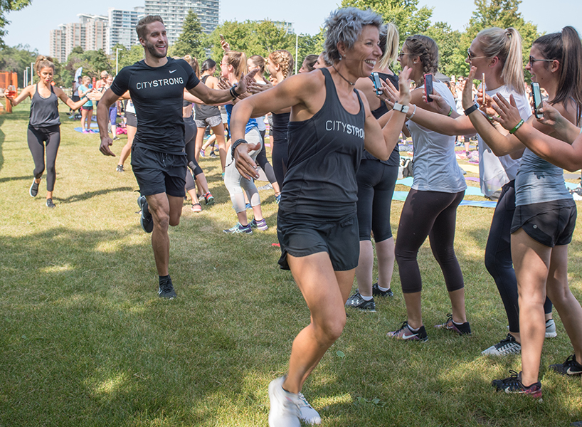 Former Bachelorette Kaitlyn Bristowe's CitySTRONG workout came to Toronto