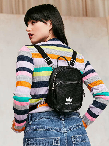 Cool backpacks: a mini adidas backpack from Urban Outfitters.
