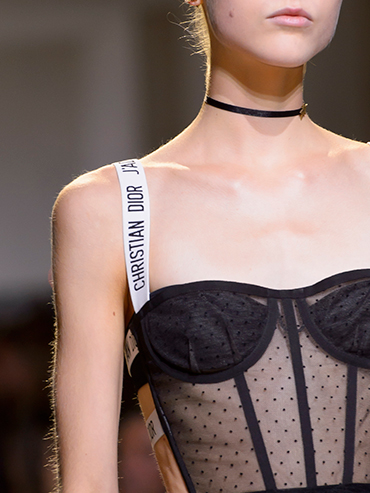 For its spring 2017 collection Dior showed bras as tops