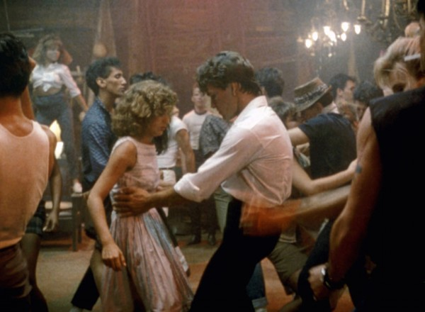 Baby and Johnny dance together in Dirty Dancing