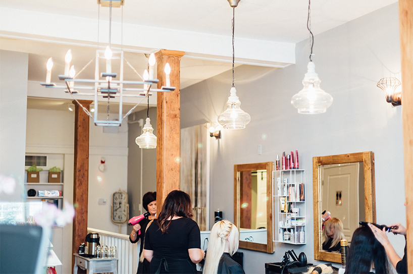 Halifax's Uptown Salon and Spa is one of our top picks for the best blowout salons in Canada