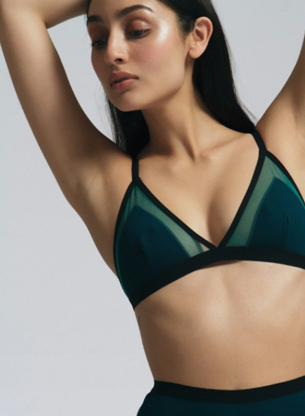 5bfefd770d494 Bras as Tops  How to Wear the Trend IRL - FLARE