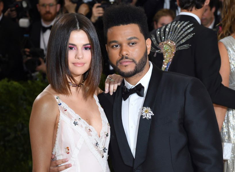 "NEW YORK, NY - MAY 01: Selena Gomez and The Weeknd attend the ""Rei Kawakubo/Comme des Garcons: Art Of The In-Between"" Costume Institute Gala at the Metropolitan Museum of Art on May 1, 2017 in New York City. (Photo by Karwai Tang/WireImage)"