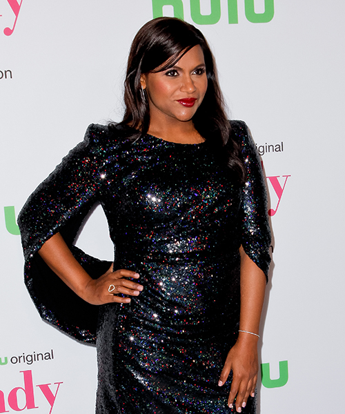 Mindy Kaling attends 'The Mindy Project' final season premiere party at The London West Hollywood on September 12, 2017