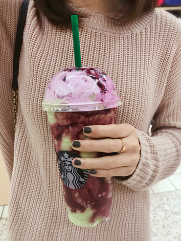 The New Starbucks Zombie Frappuccino is SO GOOD It's Scary