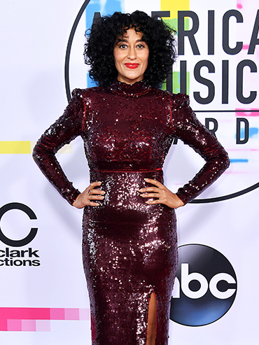 Tracee Ellis Ross on the AMAs red carpet 2017