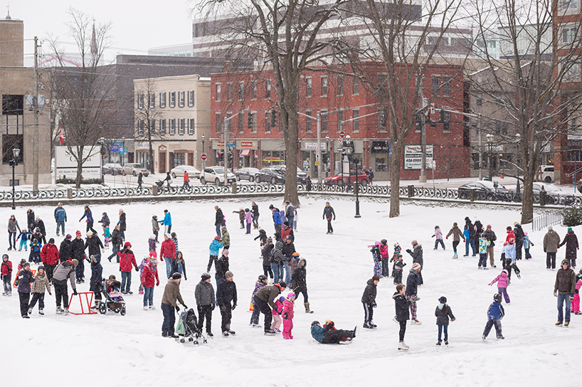 Officer's Square in New Brunswick (Photo courtesy New Brunswick Tourism)