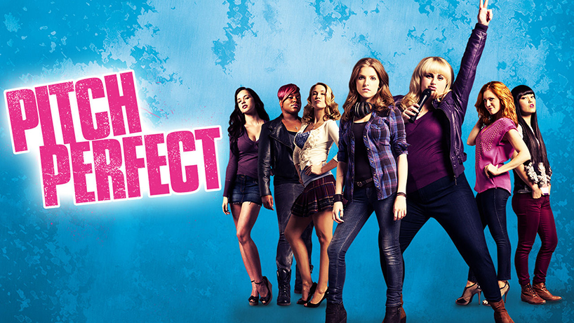 The poster artwork from the film Pitch Perfect