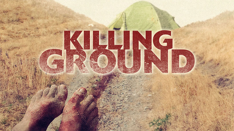 The poster for the film Killing Ground