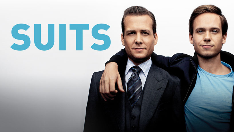 A poster for the show Suits