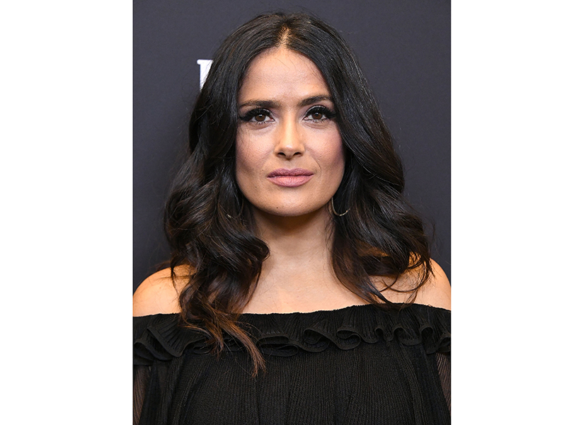 Harvey Weinstein response to Salma Hayek: WEST HOLLYWOOD, CA - NOVEMBER 15: Salma Hayek arrives at the Hollywood Foreign Press Association And InStyle Celebrate The 75th Anniversary Of The Golden Globe Awards at Catch LA on November 15, 2017 in West Hollywood, California. (Photo by Steve Granitz/WireImage)
