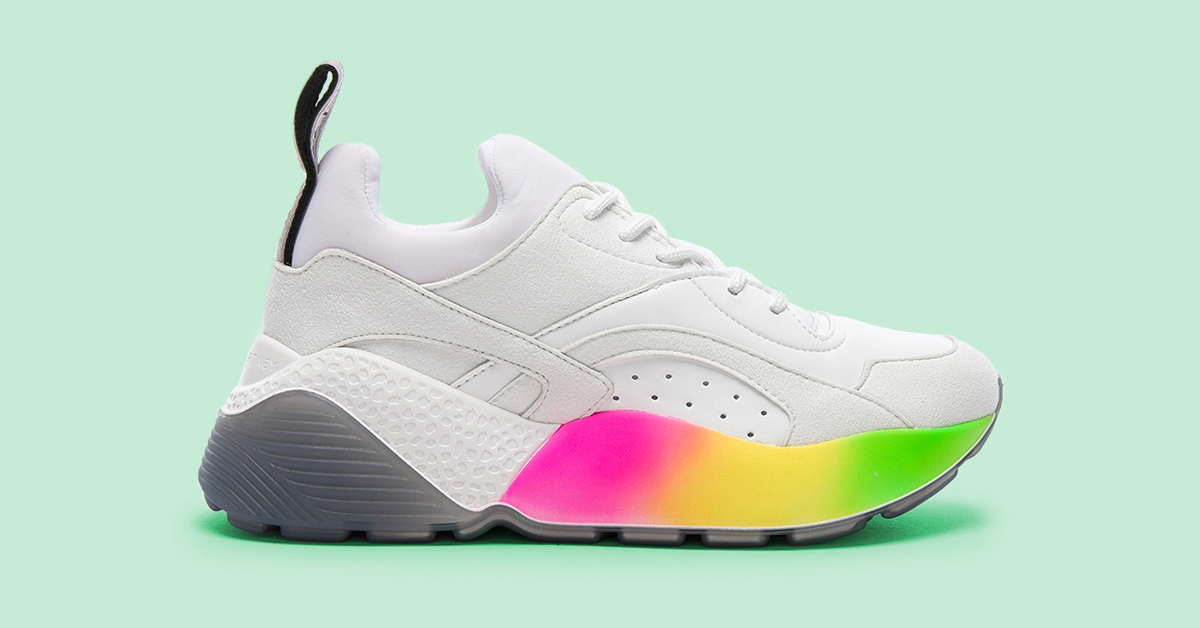 3829d3200c24 Sneaker Trends to Shop and Wear in 2018 - FLARE
