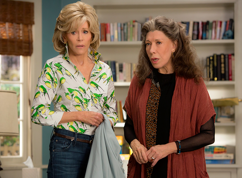 Grace and Frankie review: Jane Fonda and Lily Tomlin on Grace and Frankie