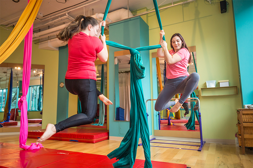 Aerial Silks at Studio In Essence in Halifax is one of the best fitness classes in Canada
