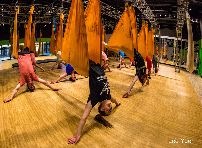 Antigravity Yoga at Move N Soar in Ottawa is one of the best fitness classes in Canada