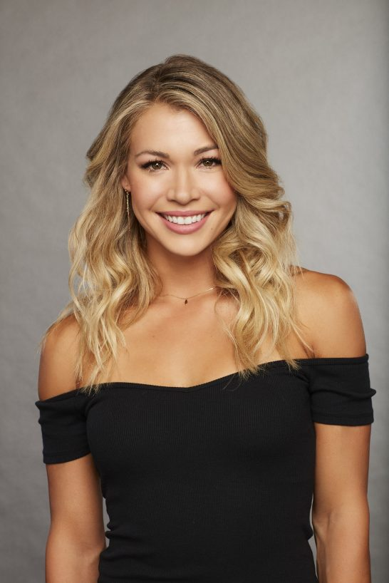 A portrait of Krystal, a contestant on season 22 of 'The Bachelor'