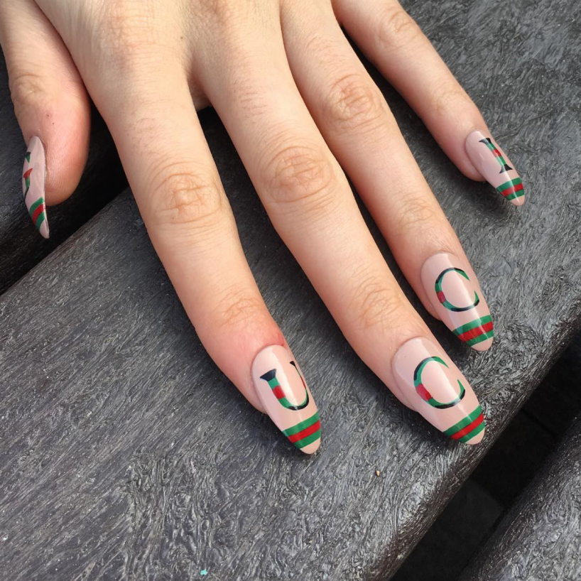 Logo Nails Are the Lated Mani Trend: Would You Wear It? - FLARE