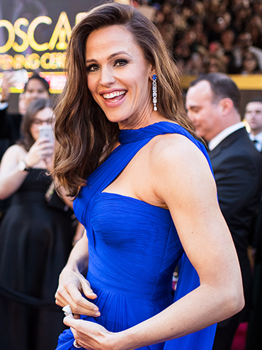Jennifer Garner on the Oscars Red Carpet