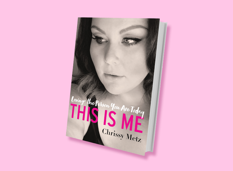 chrissy metz book cover 'this is me'