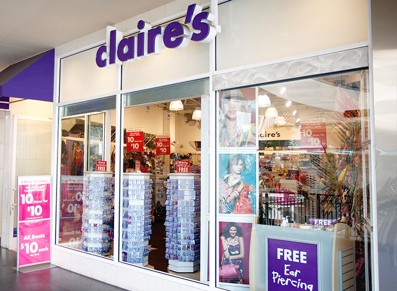 Claire's Bankruptcy: the retailer storefront