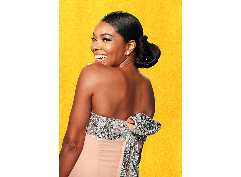 Gabrielle Union posing with a smile