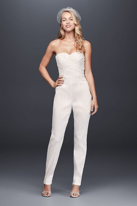 Wedding Jumpsuits For The Non Traditional Bride Flare