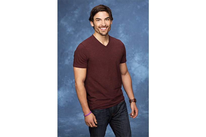 A portrait of Bachelor Nation's Jared Haibon