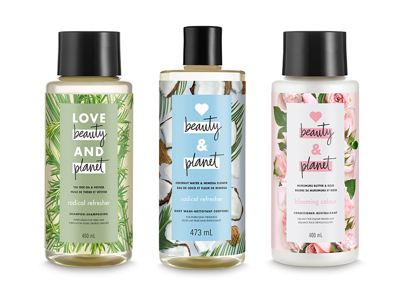 Natural drugstore beauty brands: products from Love Beauty and Planet