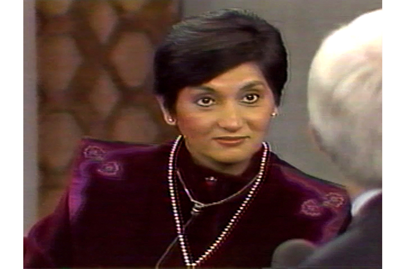 A still from Wild, Wild Country Netflix docuseries of Ma Anand Sheela