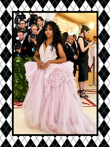 Met Gala 2018 Best Dressed: Sza, shown here, is on our best-dressed list