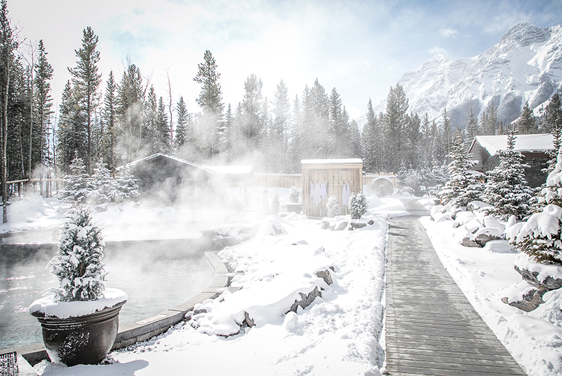 Alberta's Kananaskis Nordic Spa is one of the best destination spas in Canada