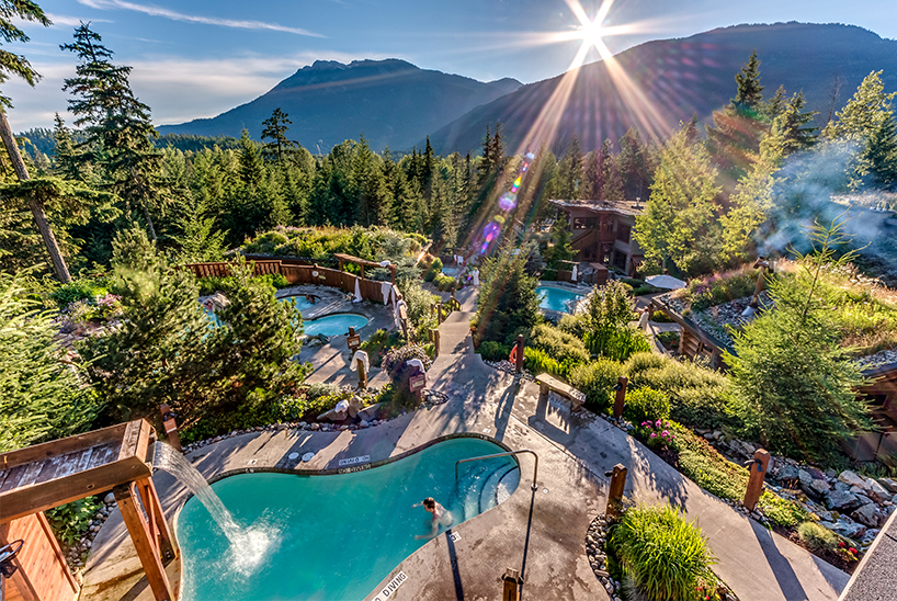 British Columbia's Scandinave Spa Whistler is one of the best destination spas in Canada