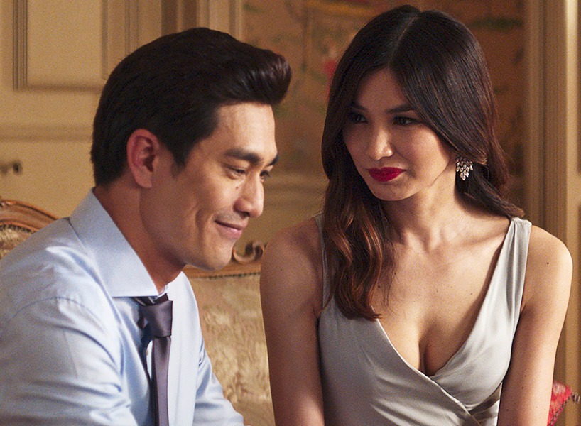 Michael and Astrid in crazy rich asians