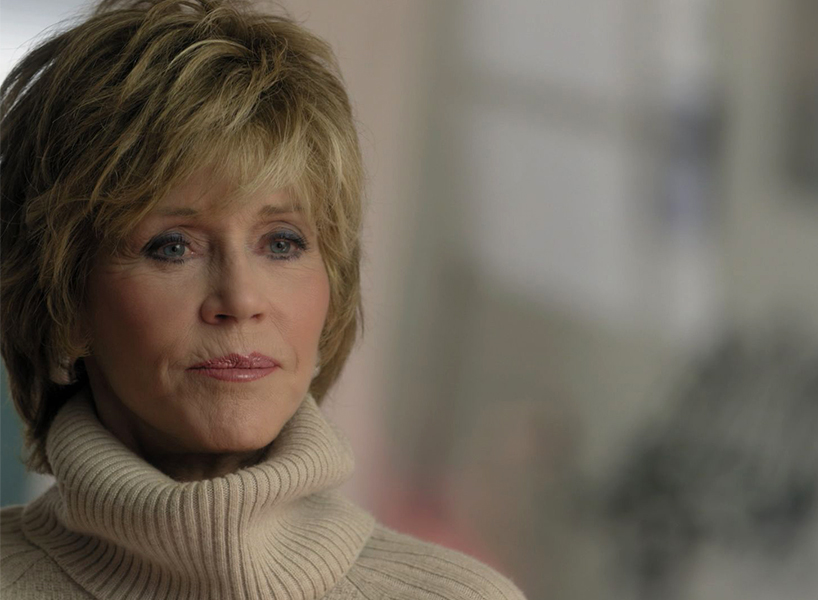 Jane Fonda in a screenshot from Feminsits What Were They Thinking?