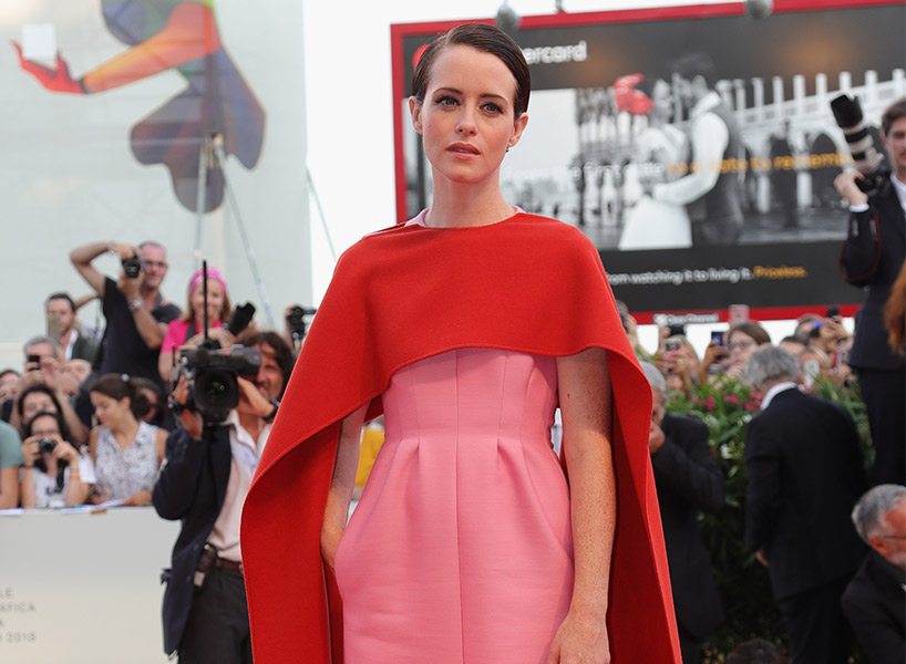 2018 Venice Film Festival Claire Foy Red Carpet