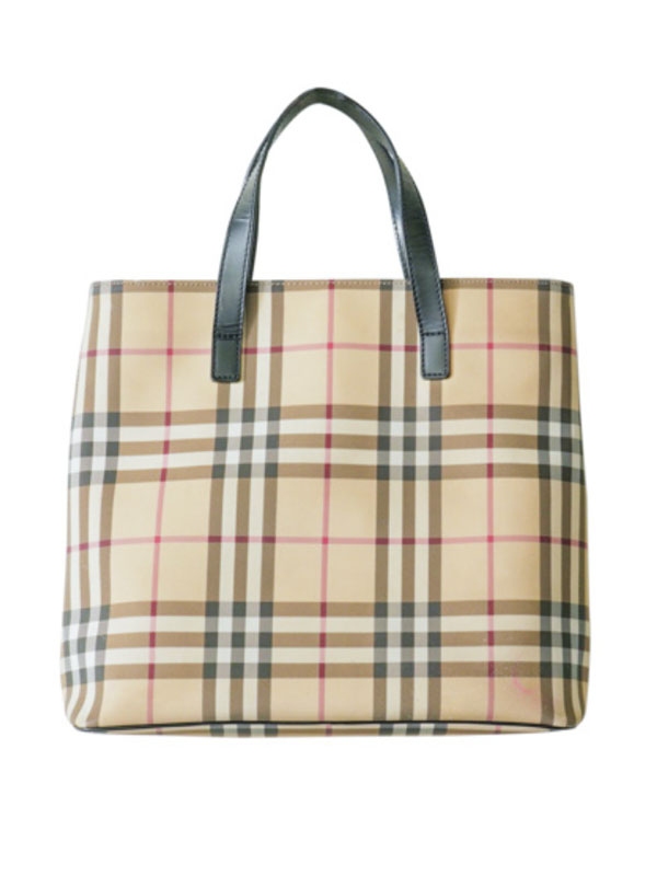 "<p>Burberry Nova Check Tote, $398, <a href=""https://the-upside.ca/product/burberry-tote/"" target=""_blank"" rel=""noopener"">the-upside.ca</a></p>"