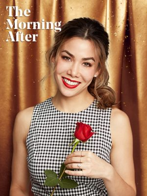 The Bachelor Season 23 episode 1 review: A photo of Sharleen Joynt in a gingham dress holding a red rose