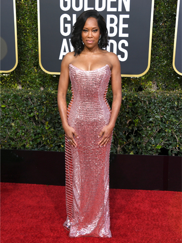 The Golden Globes red carpet for 2019