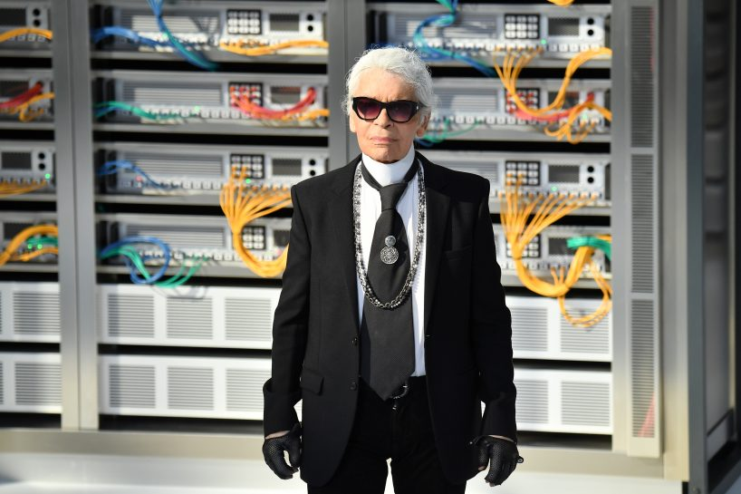 ARIS, FRANCE - OCTOBER 04: Designer Karl Lagerfeld walks the runway during the Chanel show as part of the Paris Fashion Week Womenswear Spring/Summer 2017 on October 4, 2016 in Paris, France. (Photo by Pascal Le Segretain/Getty Images)