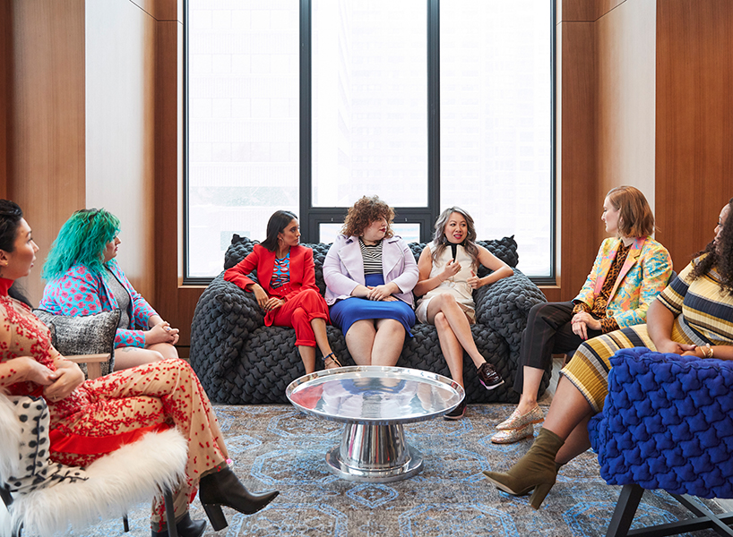 Sage Paul, Hayley Elsaesser, Sandy Gill, Lora Grady, Cynthia Yan, Odessa Paloma Paker and Bree Ahmed discuss the importance of fashion week in 2019.