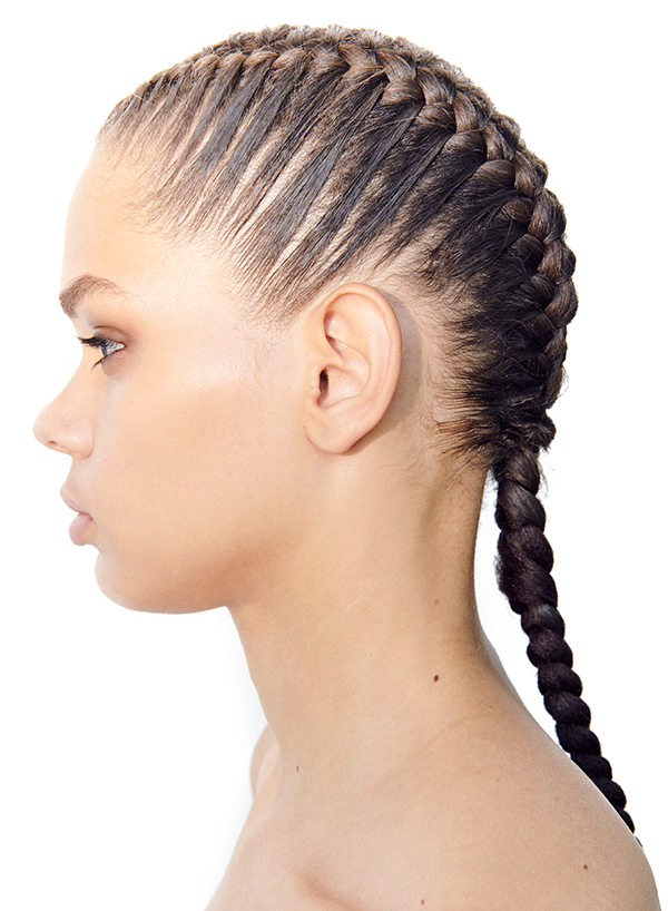 Braids hairstyle ideas from Tory Burch