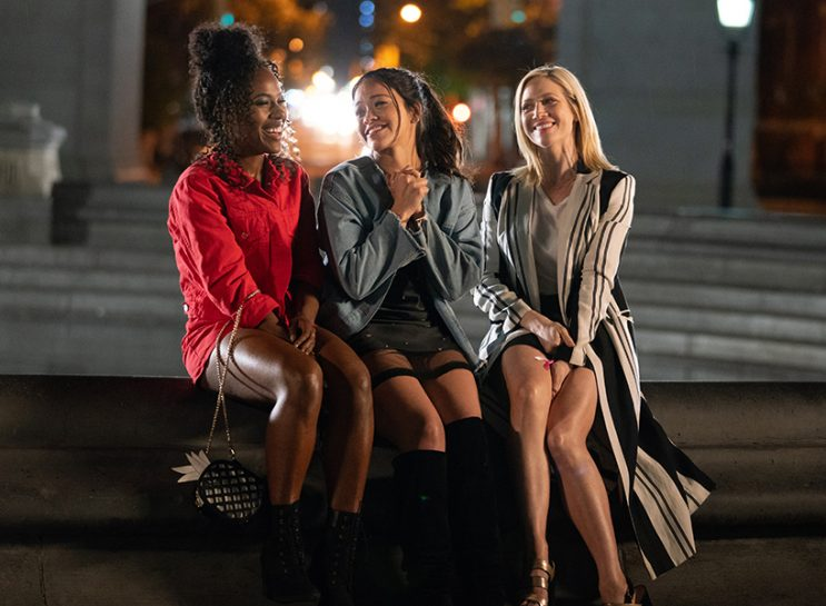 A still of DeWanda Wise, Gina Rodriguez and Brittany Snow in 'Someone Great'