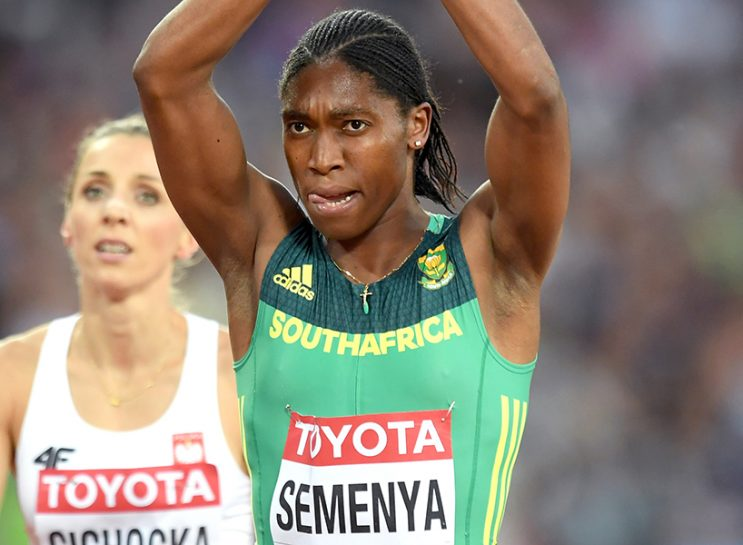 Caster Semenya at the IAAF World Athletics Championships