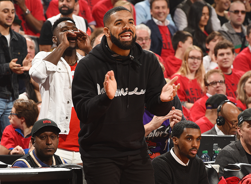 546805d724d Raptors NBA Finals: In Defence of Drake's Courtside Antics - FLARE