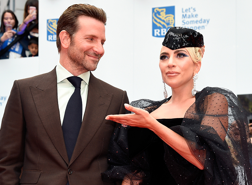 Bradley Cooper and Lady Gaga at the Toronto International Film Festival premiere of A Star is Born