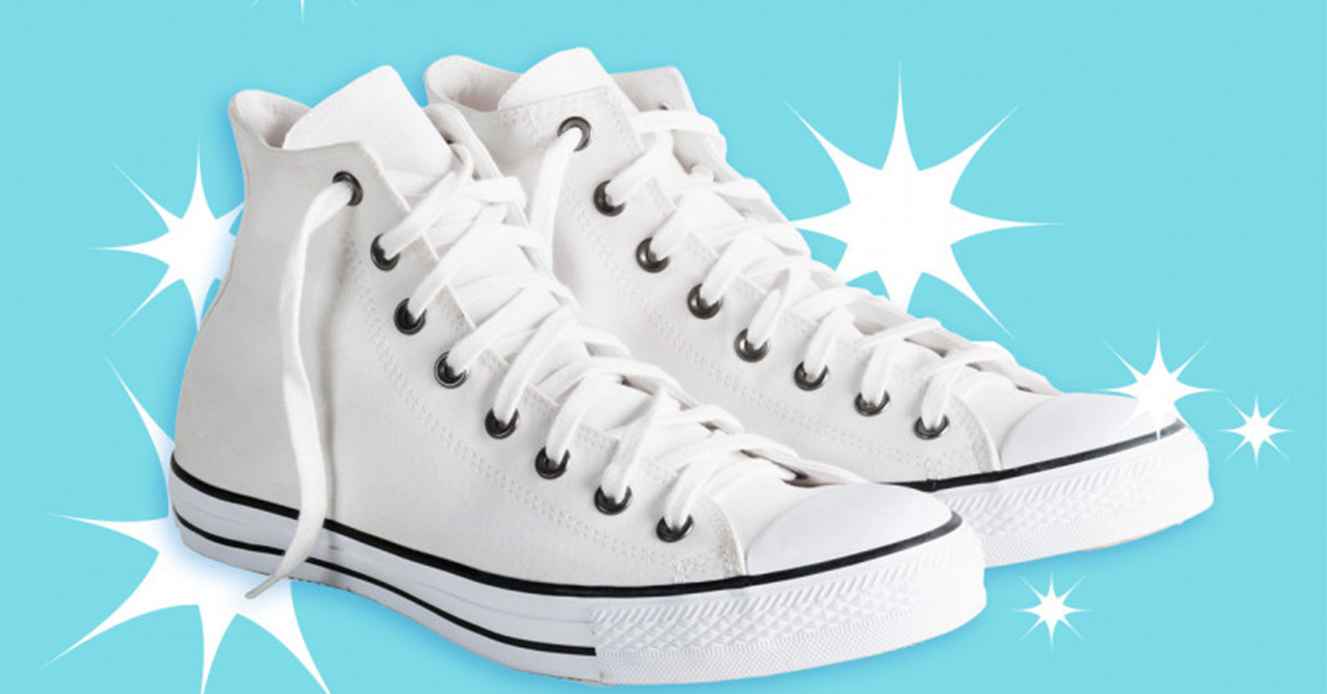 How to Clean White Sneakers and Shoes