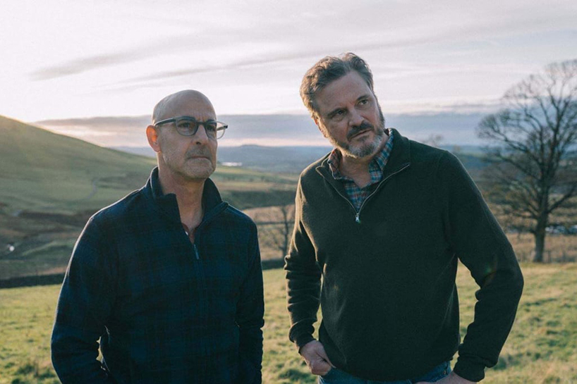 Stanley Tucci and Coling Firth in Supernova