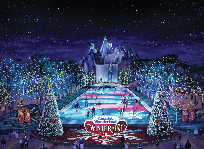 Winterfest at Canadas Wonderland